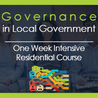 Governance In Local Government One Week Intensive Course
